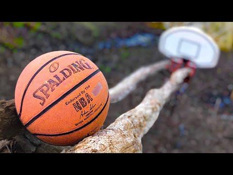 The Swish Machine: 70 Step Basketball Trickshot (Rube Goldberg Machine)