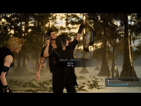 Chocobo Riding and Fishing gameplay video – FINAL FANTASY® XV