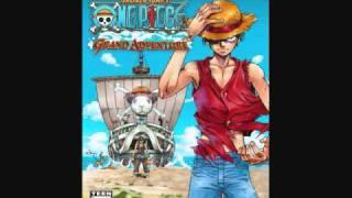 One Piece Grand Adventure - Drum Kingdom Map