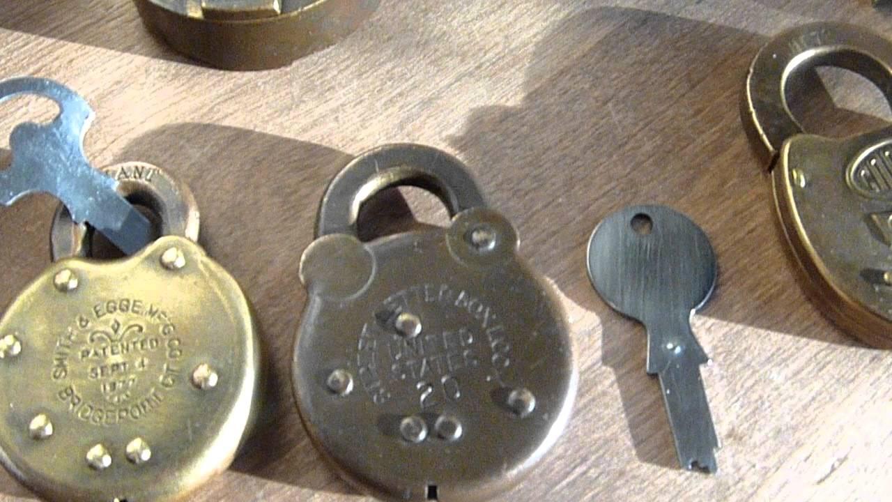 street letter box lock antique padlocks and more youtube