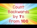 Count Backwards By 1s From 100   Jack Hartmann