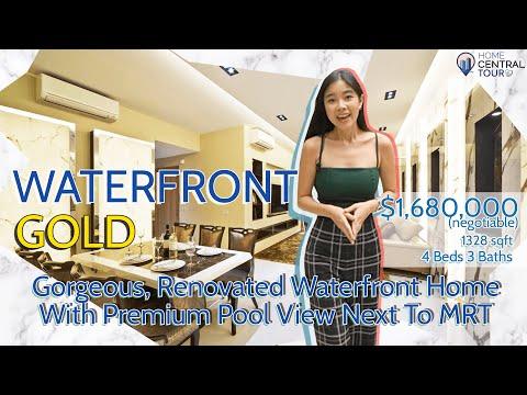Singapore Condo Property Tour: Waterfront Gold | 𝐄𝐱𝐪𝐮𝐢𝐬𝐢𝐭𝐞 𝐖𝐚𝐭𝐞𝐫𝐟𝐫𝐨𝐧𝐭 𝐇𝐨𝐦𝐞 𝐖𝐢𝐭𝐡 𝐏𝐫𝐞𝐦𝐢𝐮𝐦 𝐏𝐨𝐨𝐥 𝐕𝐢𝐞𝐰