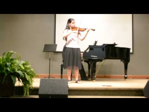 Mozart Concerto in G, Allegro
