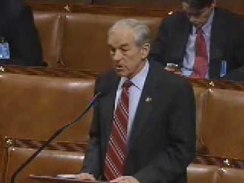 Ron Paul speech on House floor 1/22/09