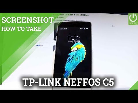 How to Take Screenshot in TP-LINK Neffos C5 Max - Capture Screen