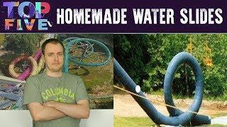 Top 5 Crazy Homemade Water Slides