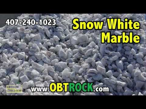 White Marble rock in Orlando 407-240-1023