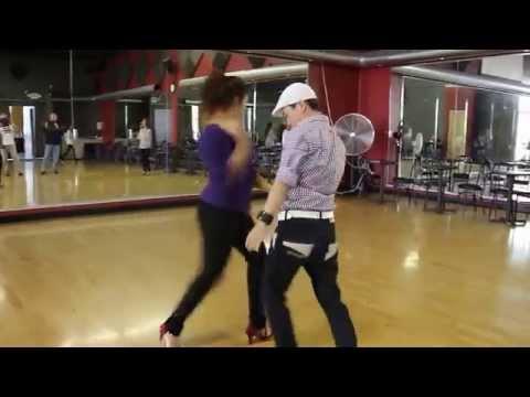 "Maestro Joo & Marie Rose - ""Dance with Joo"" SALSA SUNDAY Intermediate on1"