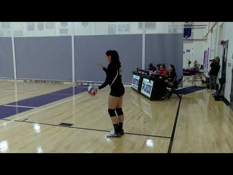 Dedham High School vs. Norton High School - Girls Fall Junior Varsity Volleyball 10/16/2019