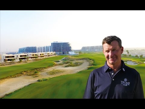 Gil Hanse introduces Trump International Golf Club, Dubai