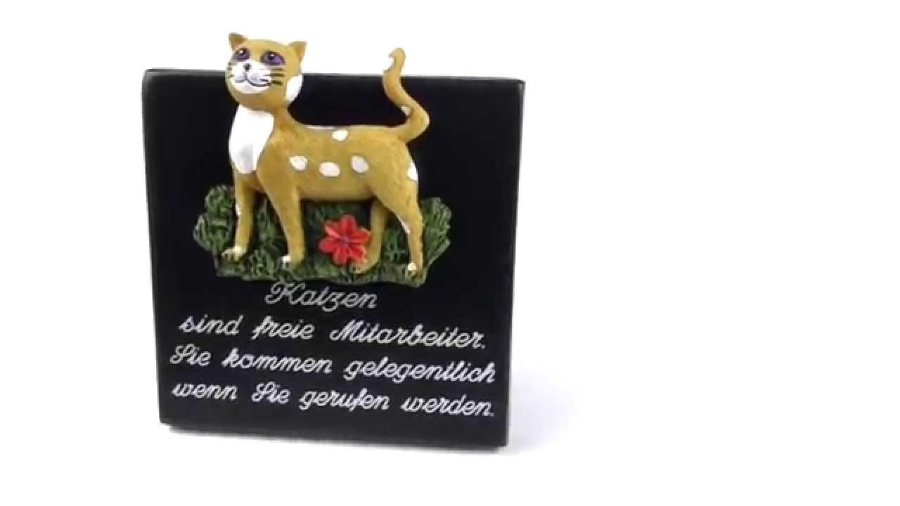 katzensprüche spruchschilder - youtube