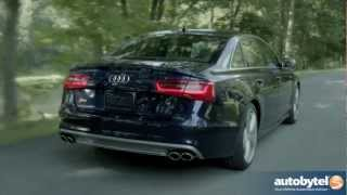 2013 Audi S6 Test Drive & Luxury Car Video Review