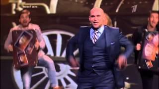 шоу ТРИ АККОРДА   МАКСИМ АВЕРИН   А поезд чух чух 15 02 2015