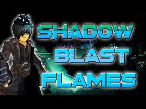AQW: ShadowBlast Flames! (20% drop!/ AC - Nonmember)