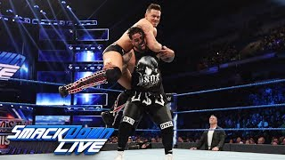 The Miz vs. Jey Uso: SmackDown LIVE, March 5, 2019