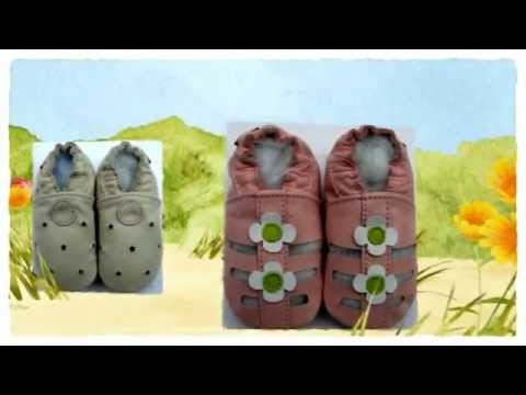 Carozoo soft sole leather baby shoes sandals