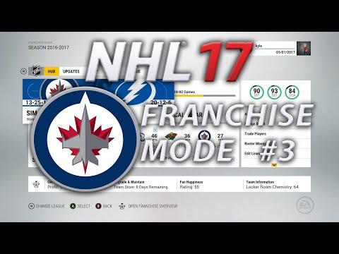 NHL 17 Franchise Mode Winnipeg Jets #3 | Lets Talk Trades!!