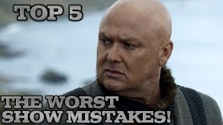 The Worst thing Game of Thrones Did!!!   Book Changes & Mistakes   Game of Thrones Season 8