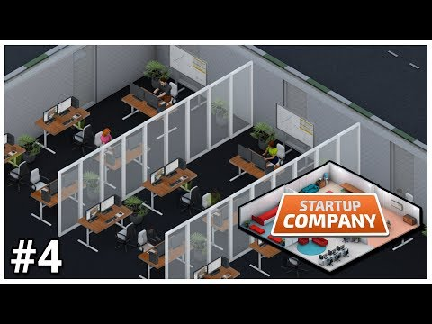 Startup Company [Early Access] - #4 - New Office - Let's Play / Gameplay / Construction