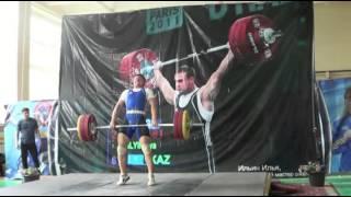 Мое выступление на Чемпионате Казахстана по тяжелой атлетике