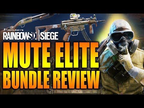 Rainbow Six Siege - In Depth:MUTE ELITE Bundle Review