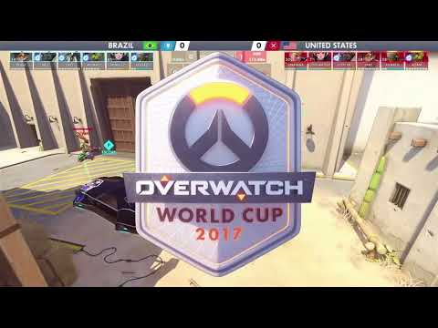 USA vs Brazil | Los Angeles Group Stage | Overwatch World Cup