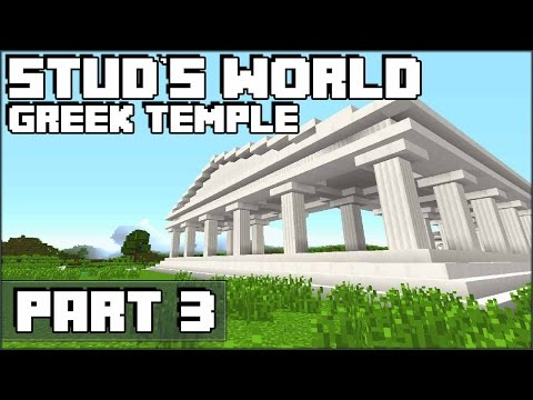 Minecraft Greek Temple - Stud's World - 77