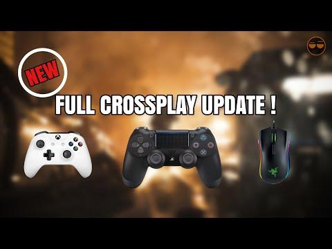 BIG PS4 Xbox One PC Crossplatform Play Update !