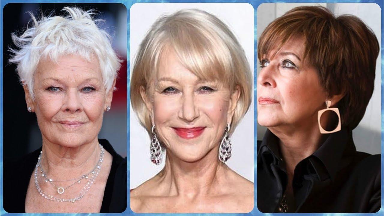 Modelo De Corte De Cabelo Curto Para Senhoras Com 60 Anos