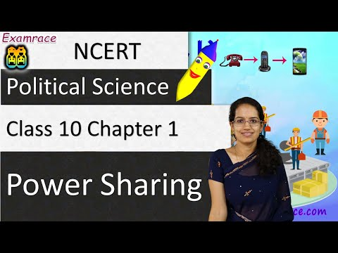 NCERT Class 10 Political Science / Polity / Civics Chapter 1: Power Sharing