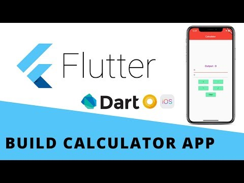 Flutter Build a Calculator App For Android & iOS | Beginners | Dart
