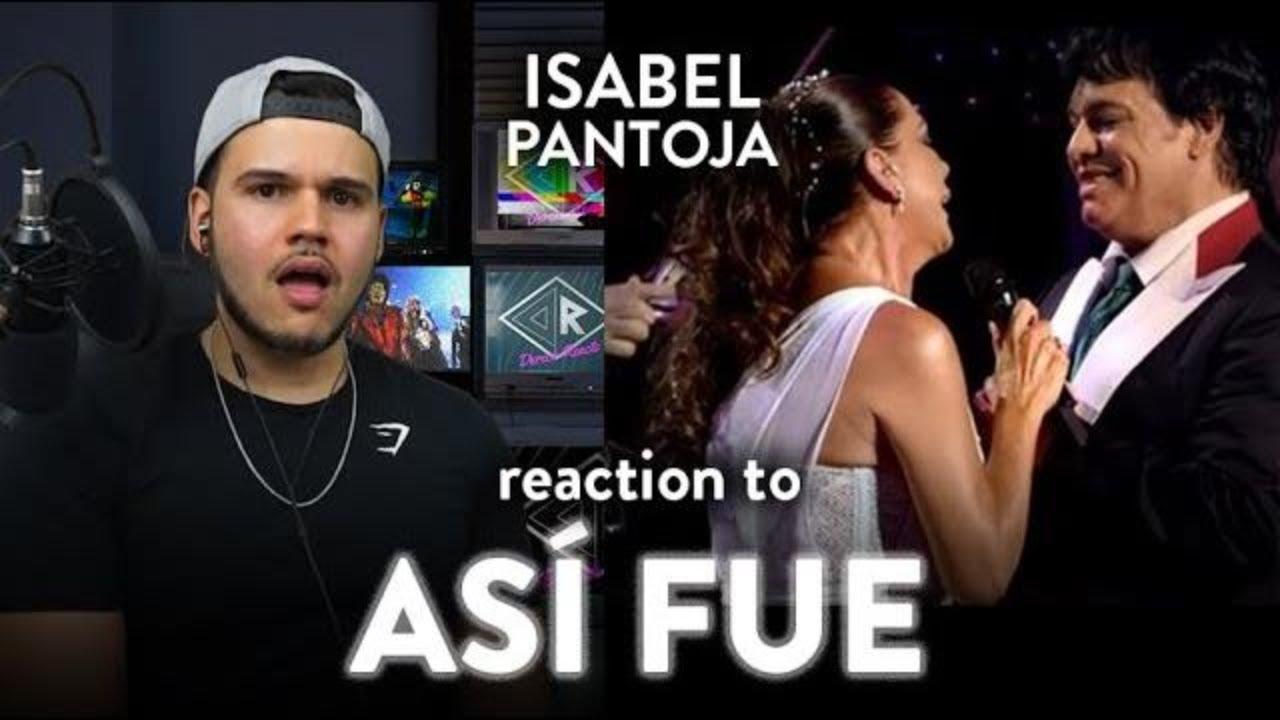 Isabel Pantoja Reaction Asi Fue LIVE Bellas Artes (Marvelous!)| Dereck Reacts