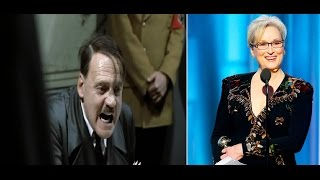 Repeat youtube video Hitler's Reaction To Meryl Streep's MMA Put-Down