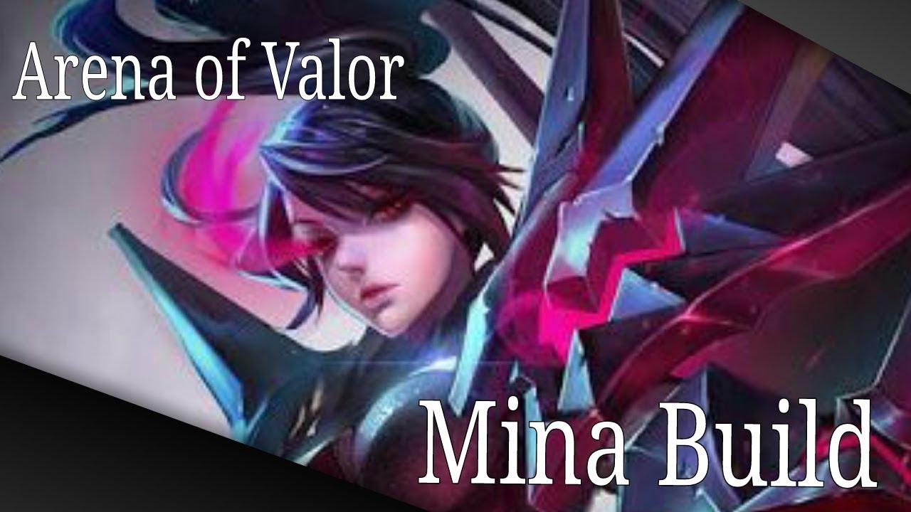 Arena of Valor - Mina - Build Tank Elite - YouTube