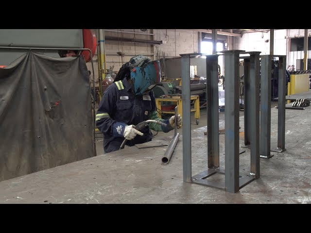 Welding student earns career credentials with dual enrollment