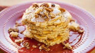 How to Make Butter Pecan Pancakes, 1 Bowl Recipe  Simply Bakings