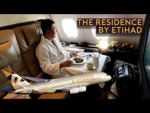 My MOST LUXURIOUS FLIGHT - $20,000 Residence in the Sky