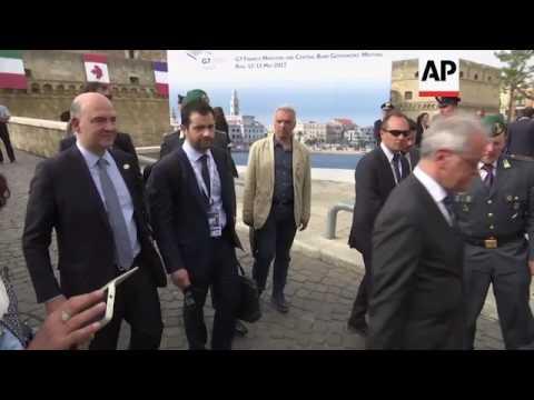 Top G7 finance officials depart Bari meeting