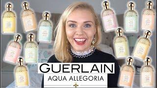 GUERLAIN AQUA ALLEGORIA PERFUME RANGE REVIEW | Soki London