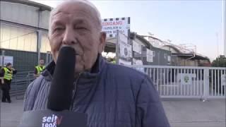 seit1908.tv: 9. Runde: LASK gegen  Mattersburg - Fans vor dem Spiel