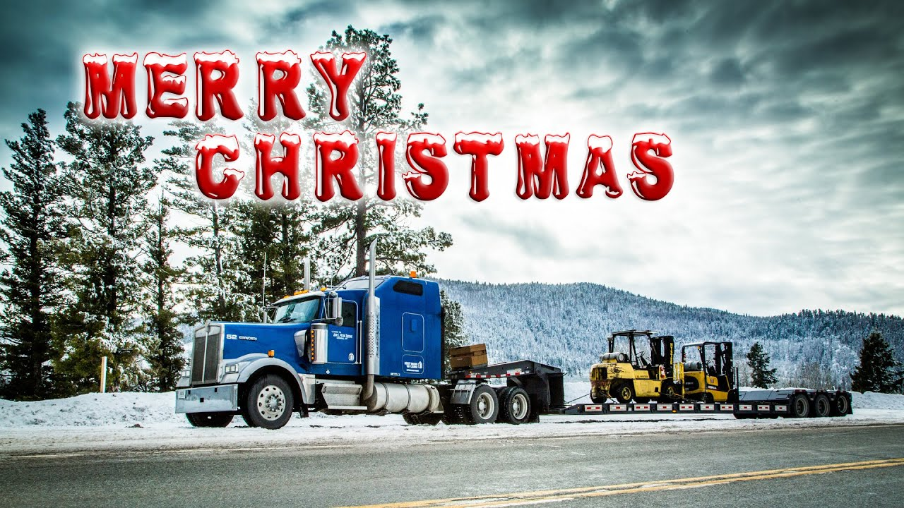 I'll be home for Christmas the Trucker Edition - YouTube