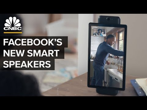 Facebook Unveils Portal Smart Speakers