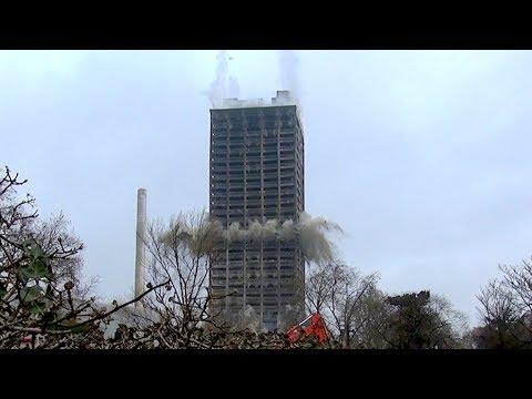 Bombe Frankfurt Main Sprengung