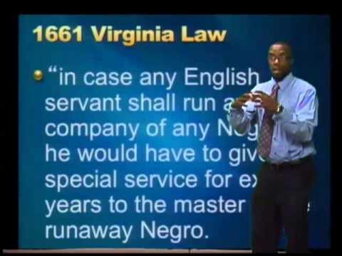 Slave Laws of Colonial Virginia
