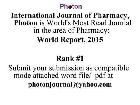 International Journal of Pharmacy