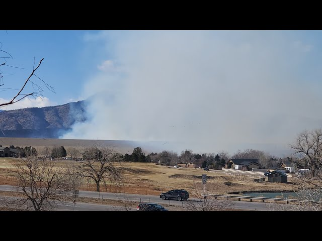 Bear Creek Lake Fire - February 7th, 2021