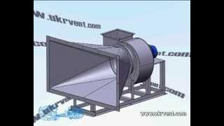 Вентилятор центробежный ВЦ4-75-3,15 с переходником(, 2012-02-29T08:48:07.000Z)