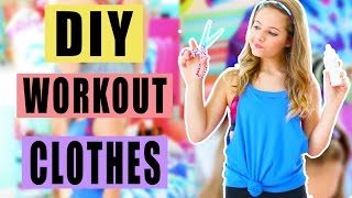 DIY Workout Clothes || Upcycle Your Old T-Shirts!