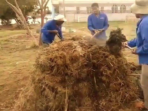 Composting training Farming Gods Way and NMMU agriculture students