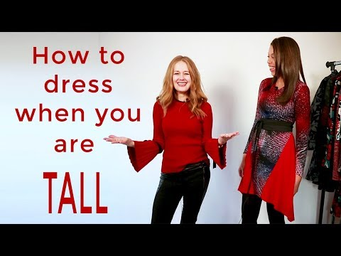 Style makeover for women over 40 - how to dress when you are tall for women over 40